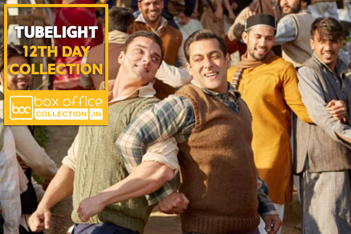 Tubelight 12 Days Total Box Office Collection