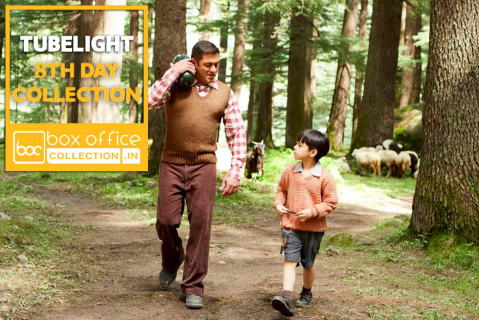 Tubelight 8 Days Total Box Office Collection
