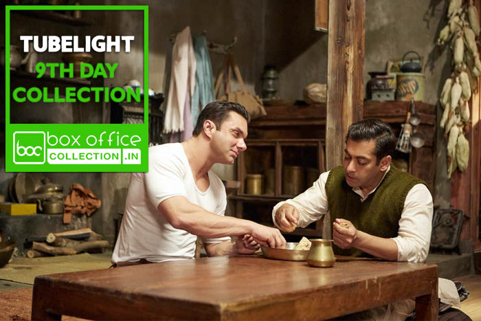 tubelight 9 days total box office collection