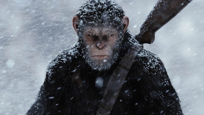 First Day Collection of War For The Planet Of The Apes