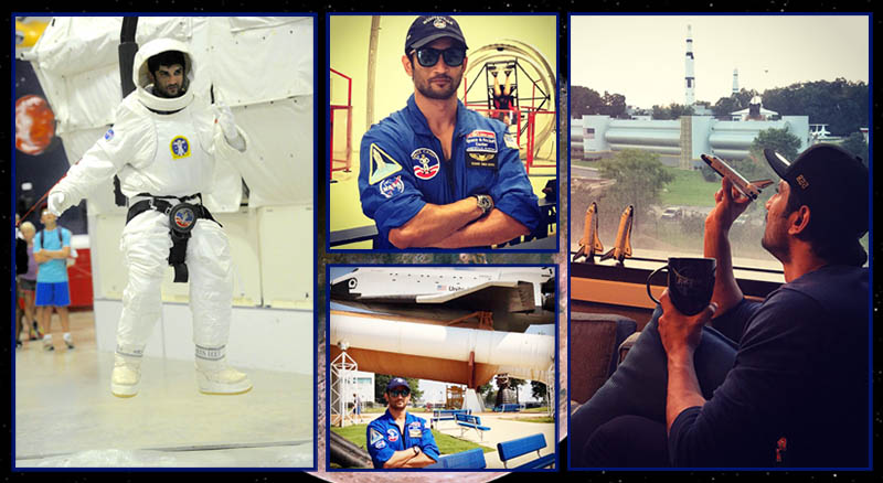 Sushant Singh Rajput Prepares for his Astronaut Role in Chanda Mama Door Ke at NASA