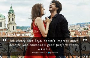 Jab Harry Met Sejal (JHMS) Review- Doesn't Impress Much Despite SRK-Anushka's Good Performances