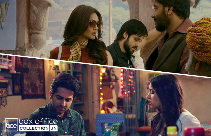 14th Day Collection of Baadshaho and Shubh Mangal Saavdhan