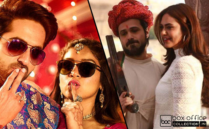 6th Day Collection of Baadshaho & Shubh Mangal Saavdhan