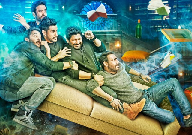 Great! Golmaal Again Online Advance Booking Starts 4 Weeks Ahead of it's Release