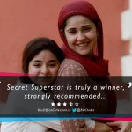 Movie Review: Secret Superstar is Truly a Winner, Strongly Recommended