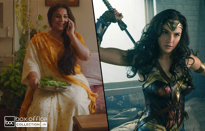 Tumhari Sulu and Justice League 9 Days Total Collection