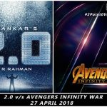 Marvel's Avengers Infinity War to Clash with Rajinikanth-Akshay's 2.0 on 27 April 2018 in India