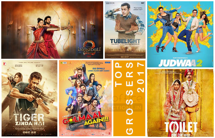 Highest grossing hindi films of 2017 at indian box office - Top bollywood movies box office collection ...