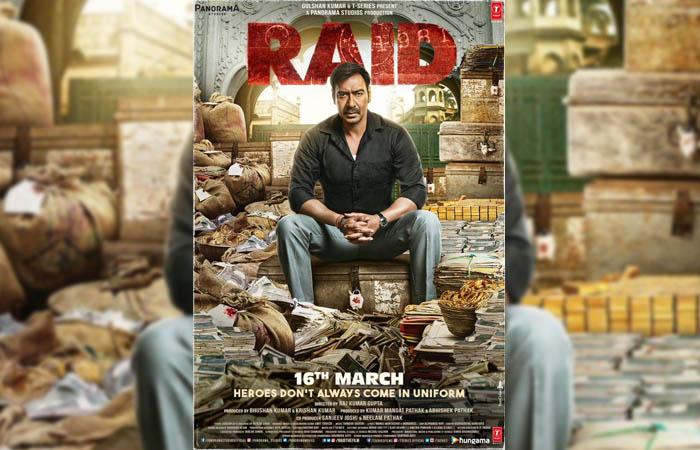 Raid starring Ajay Devgn & Ileana D'cruz
