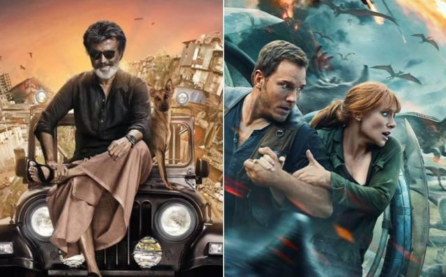 Rajinikanth's Kaala & Jurassic World Fallen Kingdom 2nd Day Box