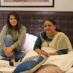 Richa Chadha meets the real Shakeela Khan ahead of the film's shoot