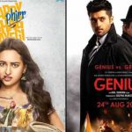 5th Day Collection of Happy Phirr Bhag Jayegi and Genius at the Domestic Box Office