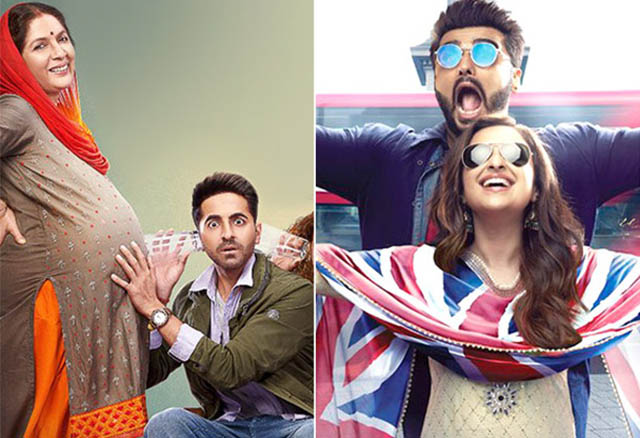 Image result for Badhaai Ho Collections & Namaste England Collections