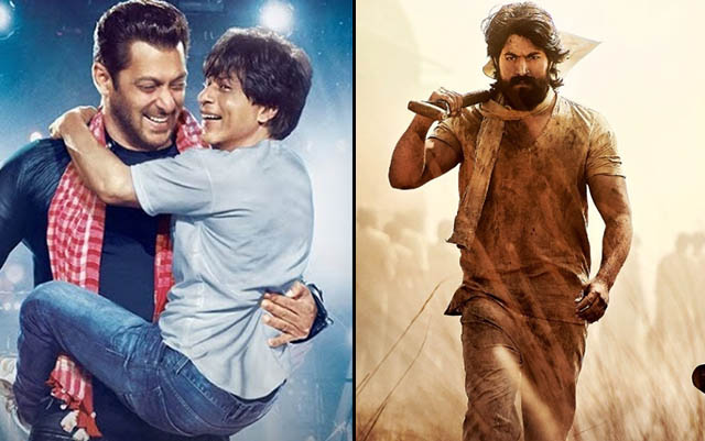 Zero & KGF Hindi 21st Day Collection, Domestic Box Office