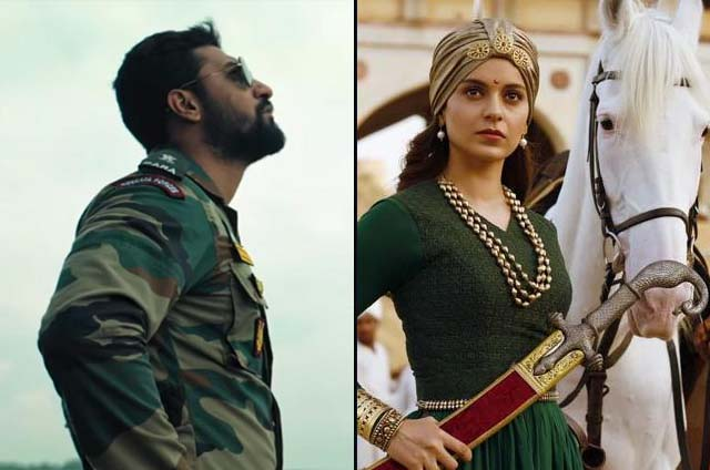 Uri The Surgical Strike 33rd Day And Manikarnika 19th Box Office Collection Report