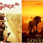 The Lion King 12th Day and Super 30 19th Day Collection at the Indian Box Office